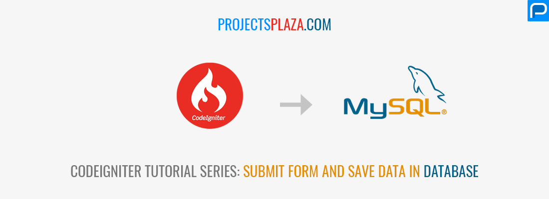 Submit form and save data in database with codeigniter mysql