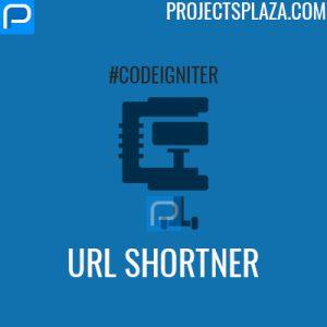url shortner project in codeigniter