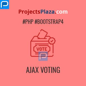ajax voting system in php