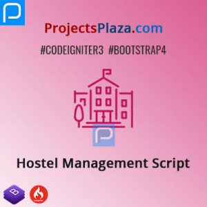 hostel management script in codeigniter