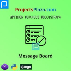 Django-Message-Board-Project