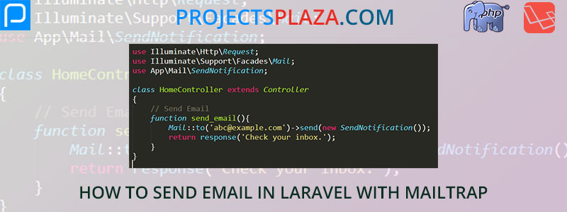 how-to-send-email-in-laravel-with-mailtrap